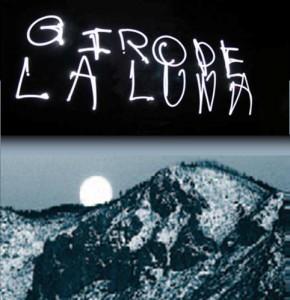 Moon and flashlights over Eldon