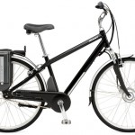 A battery-electric assisted commuter bike