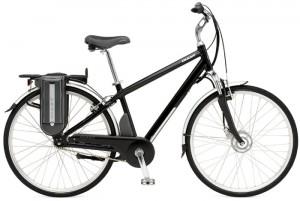 An battery-electric assist commuter bike