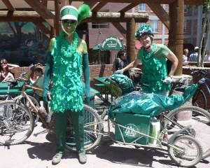 The Breihan-Langs Green Mobile were Parade winners