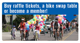 Buy raffle tickets, a bike swap table or become a member.