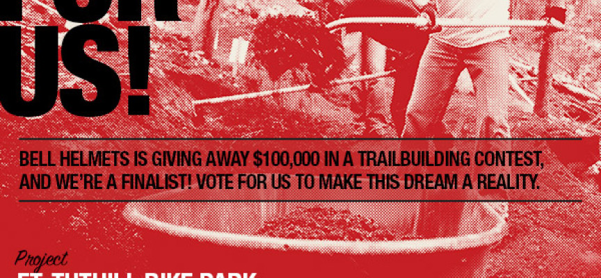 VOTE April 7-20! The Ft. Tuthill Bike Park has been chosen as a finalist for an IMBA Bell Built Grant!