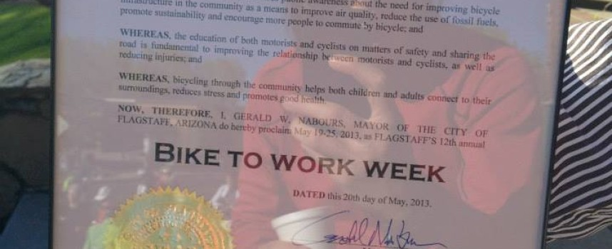 Bike to Work Week: Worksite Challenge begins & Kick-Off Commuter Ride. Get on your bikes and ride!