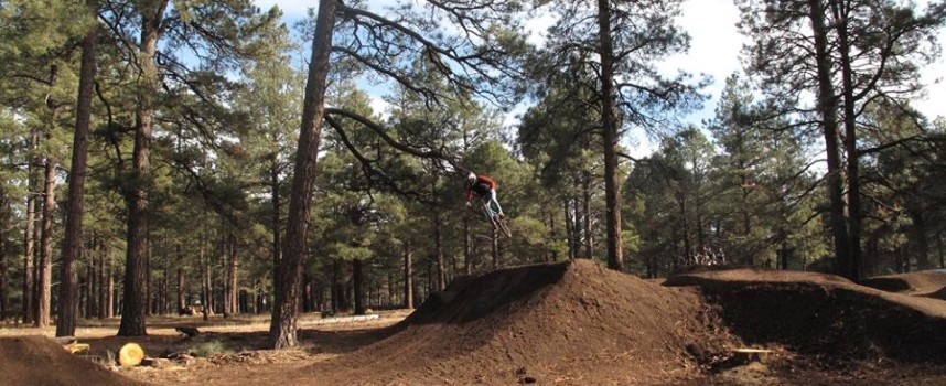 Donate some of that money you got for Christmas to the Fort Tuthill Bike Park!