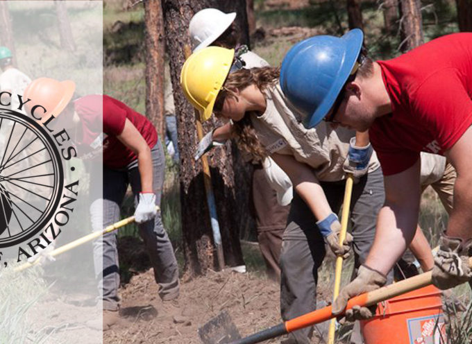 Trail Day! June 30th, Bridge Trail, Fort Tuthill, new construction