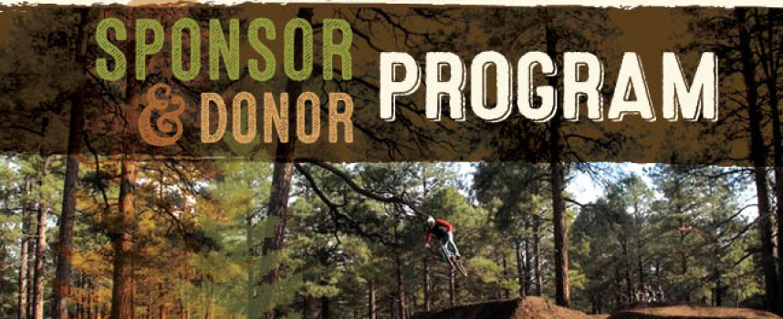 The Fort Tuthill Bike Park is seeking sponsors and donors!