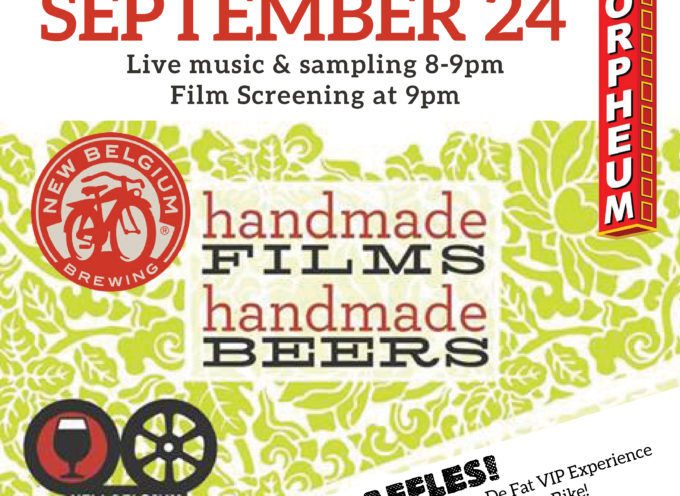 Orpheum Theater New Belgium Night featuring The 2015 Clips of Faith Premiere, Thursday, September 24th