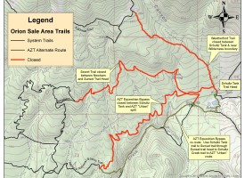 Secret, Weatherford and the Arizona Trail Equestrian Bypass are reopened!