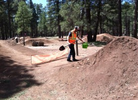 Coconino County Parks and Rec. Spring Bike Park Volunteer Day, Saturday April 23