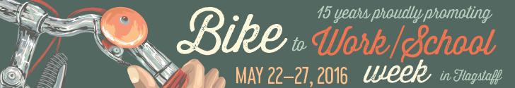 Join us for Flagstaff's Bike to Work & School Week