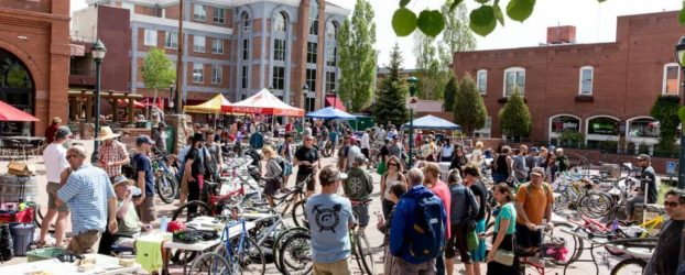 Bike Bazaar- Bike Swap,Human Powered Parade and more! Sunday, May 20th, Heritage Square