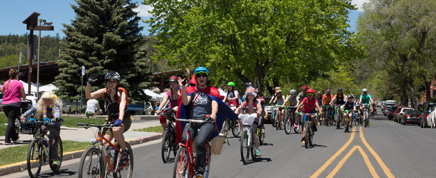 May 2021 is Flagstaff Bike Month!