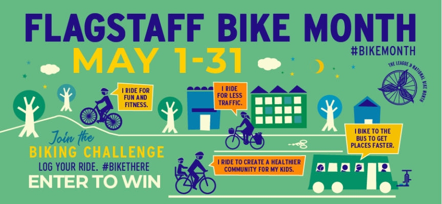 Announcing! 2021 Flagstaff Bike Month – May 1-31