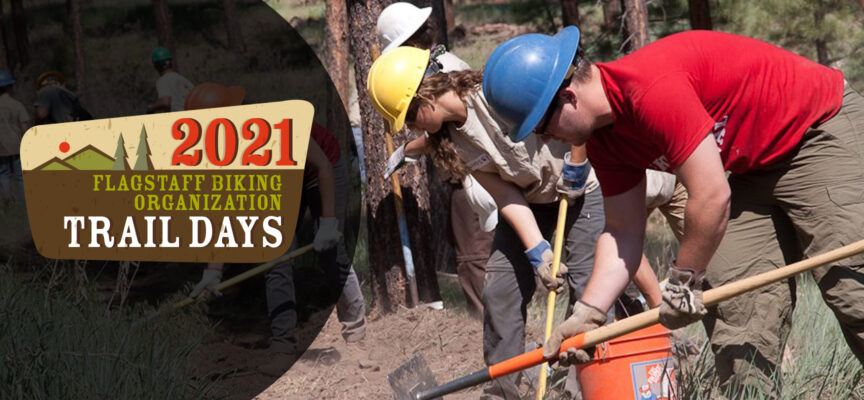 Trail Day! August 28th, Arizona National Scenic Trail tread repair above lower Snowbowl Road